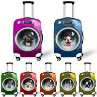 Cute Travel Luggage Cover Spandex Secure Anti-Scratch Suitcase Baggage Protector