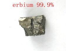 30 grams High Purity 99.9% Erbium Er Metal Lumps