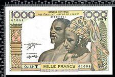 B.C.E.A.O Togo / 1 000 francs 1978-79 / Non circulé