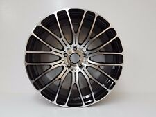 "4 x 20""BLACK & POL DEEP DISH MESH VORTEX WHEELS 5/120 FITS BMW 3,4,5,6,7 SERIES,"