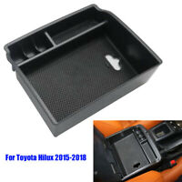 Armrest Storage Box For Toyota Hilux Revo 2015 2016 2017 2018 Console Tray Cases