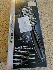 INFINITIPRO BY CONAIR Diamond-Infused Ceramic Smoothing Hot Brush/Straightener