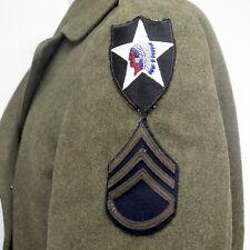 VINTAGE ORIGINAL US ARMY OFFICER UNIFORM REGULATION COAT WW2 1942 PATCH