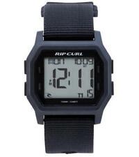 Rip Curl Atom Webbing Digital Watch Mens in Black
