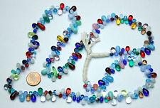 Strang Tropfen Perlen aus Böhmen /Strand bohemian tear drop beads