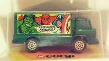 VINTAGE 1978 CORGI JUNIORS 80 MARVEL COMICS TRUCK SHORT CARDED ORIGINAL PACKAGE