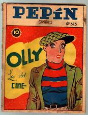PEPIN COMIC 373 w SUPERMAN STORY Newspaper Strip Story Spanish Frankenstein 1940