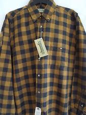 Saddlebred Men's Gold Tone and Black Sz M Shirt