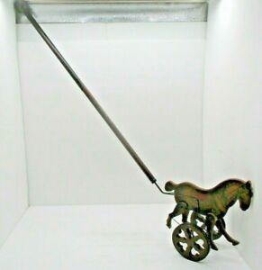 1984 Louis Nichole Horse Push Walking Toy