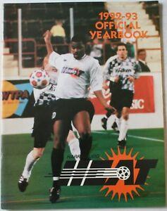 1992-93 Harrisburg Heat Yearbook NPSL National Professional Soccer League