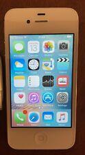 Apple iPhone 4s - 16GB - White (Unlocked) A1387 (CDMA + GSM) Home button isn't