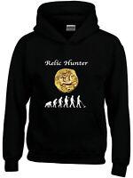 Relic Hunter Detectorists Metal Detecting Hoodies Mens Ladies Kids