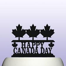 Acrylic Canada Day Cake Topper Decoration & Keepsake Gift - July 1st Anniversary