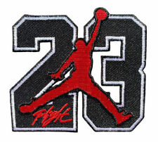 23 jordan symbol Iron on patch
