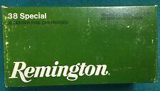 Vintage Remington 38 Special Wad Cuter Box