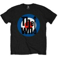 OFFICIAL LICENSED - THE WHO - CLASSIC TARGET T SHIRT ROCK MOD QUADROPHENIA