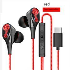 Type C With Mic Super Bass Music In ear Stereo Headphone Headset Earphone Earbud