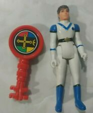 Vintage Panosh Place VOLTRON  Blue Lion Pilot Action Figure 1984 Lance W/ Key