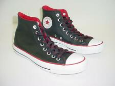 EUC CONVERSE All Star Chuck Taylor High Tops Black Leather Men's 7 w/o Box