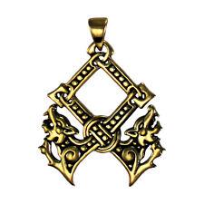 Bronze Othala Pendant by Dryad Design | Asatru Norse Viking Runes Pagan Jewelry