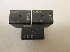 Lot of 3 Siemens, Tyco GM Pontiac Relay 12135180 Multi Purpose