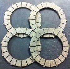Bsa C15 B25 B40 B44 Tr25w Clutch Plates X4 57-2726 Free Uk Postage