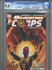 Green Lantern Sinestro Corps Special #1 CGC 9.8 (2007) 1stPrint Ethan Van Sciver