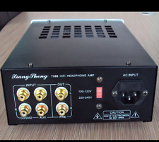 Hot Pre-Amplifier 708B Tube HIFI Headphone Amplifier Headphone amp+fast shipping
