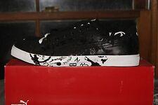 Men's Puma Benny Graphic Black White 8.5 9 9.5 10 11 Sneakers Shoes