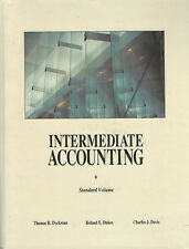 Intermediate Accounting Standard Version by Dyckman Dukes 1992 Hardcover Book