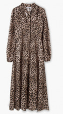 Lily and Lionel London Safari 70s dress. Animal print maxi. Size S. RRP £235