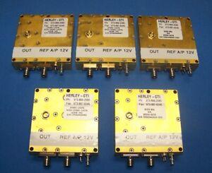 CTI PDRO oscillator 16.34-16.90GHz. Ref range 10-150MHz. 15dBm 12v Hi Band L.O.