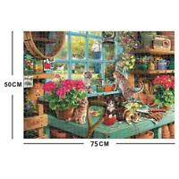 Cute Cats - Jigsaw Puzzle 1000 Piece Puzzles For Adults Education Kids O8I1