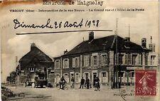 CPA Tricot - Intersection de la rue Neuve - La Grand rue et l'Hotel de (259652)