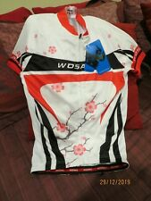 WOSAWE BICYCLE JERSEY   POLYESTER,   FULL ZIPPER.   MEDIUM   NEW