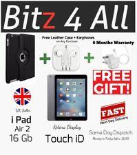 Apple Aire de Ipad 2 16gb, Wi-Fi, 9.7in - Plata, Pantalla Retina, Táctil Id ,