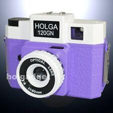 HOLGA 120GN / 120 GN Medium Format Film Glass Lens Toy Camera LOMO Purple White