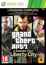 GTA Grand Theft Auto IV & Episodes From Liberty City Complete Edition Xbox 360