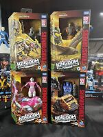 Transformers WFC Kingdom Deluxe Lot
