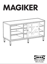 """1 set of legs 22.5"""" for Magiker Cabinet with 2 nuts to mount 2 adjustable feet"""