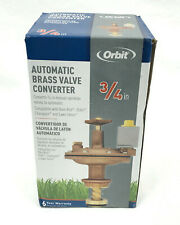 "Orbit 3/4"" Automatic Brass Valve Converter 57034"