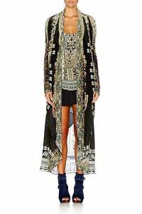 Camilla Franks Torero Long Pocket Silk & Knit Jacket Or Can Be Worn As A Dress