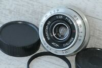 INDUSTAR-50 3.5/50mm+Adapter M39-M42 Silver Russian Pankake Lens USSR
