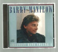 Greatest Hits, Vol. 1 by Barry Manilow (CD, Apr-1989, Arista)