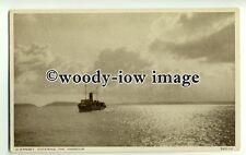 f0239 - L&SWR Ferry - Alberta ? arrives Guernsey - postcard