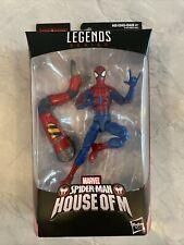 Marvel Legends Spiderman House of M SP/dr BAF MISB!