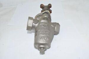 Mueller CN7M 3/4'' Steam Strainer, Acid Pump Strainer .75-12601 C70