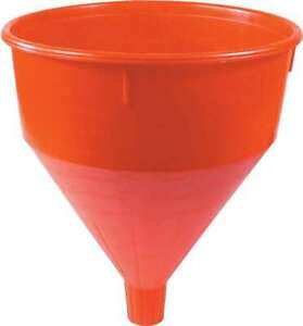 "Allstar Funnel Round 9-7/8""OD x 10-1/2""Long Screen Plastic Red 40100"