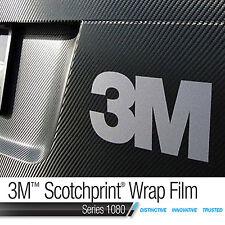 3M Genuine Scotchprint WRAP FILM - Carbon Fibre Vinyl - 200mm x 300mm - A4 Size