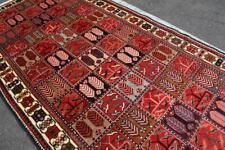New listing 5'3 x 9'7 S Antique Keshti Kurdish Handmade Wool Area Rug 5 x 10 Oriental Carpet